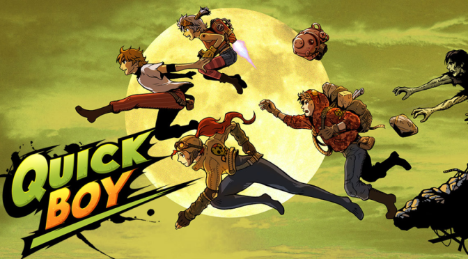 Quickboy – A Post-Apocalyptic Steam-Punk Themed Side-Scrolling Platformer