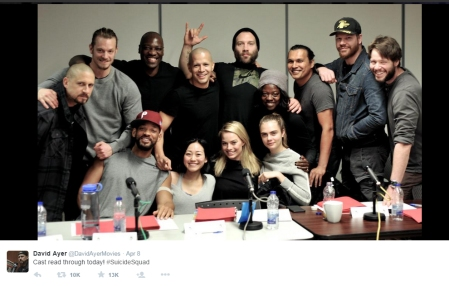 suicide squad cast read