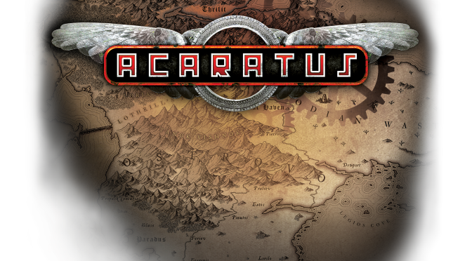 Acaratus, A Tactical Turn Based RPG Set Within A Medieval Steampunk World