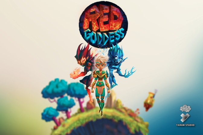Red Goddess, A Visually Stunning Side Scrolling Platformer Coming to Current Gen
