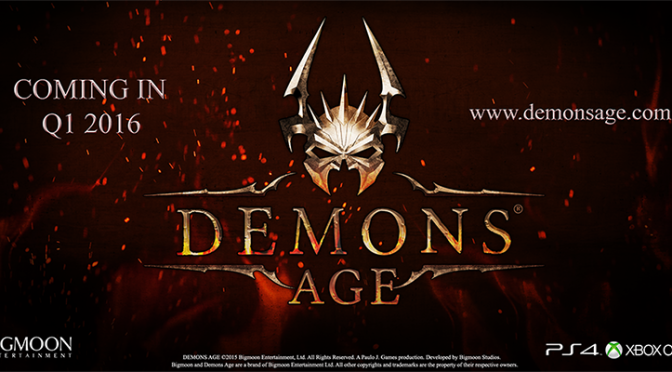Demons Age: Brand New Dark Fantasy Turn-Based Role-Playing Game to Launch in Q1 2016 on PC, PS4 & XO