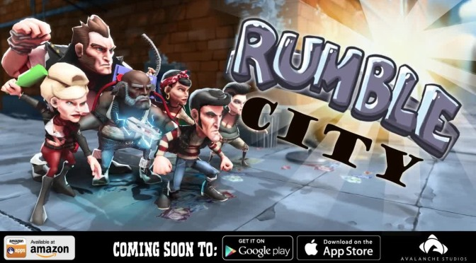 Rumble City, Avalanche Studios Takes Their AAA Experience And Brawls Their Way Onto Mobile Formats