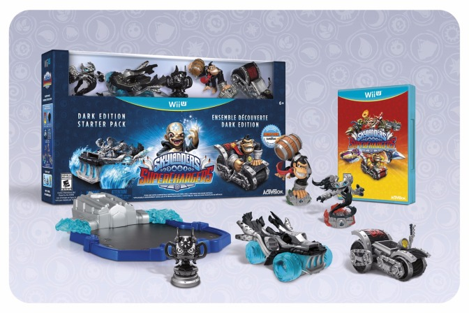 Skylanders SuperChargers Dark Edition Shown At SDCC