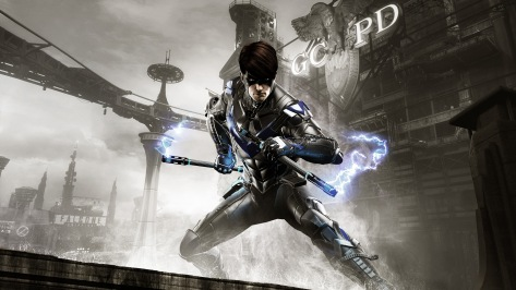 GCPD Lockdown nightwing