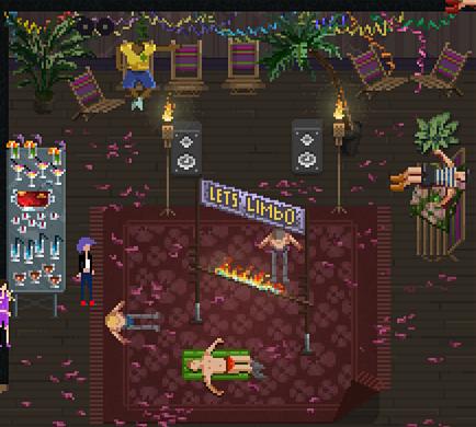 party hard limbo-party