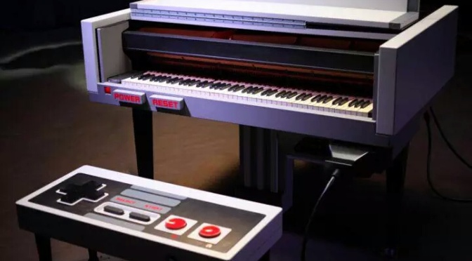 Player Piano Put's A Classical Twist On The Super Mario Bros. Theme Song In Memory Of Satoru Iwata