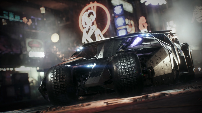 Batman: Arkham Knight 2008 Tumbler Batmobile Pack Is Out Today, See What's Coming Next Week