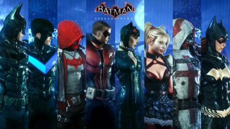 batman arkham character selection ar combat challenge