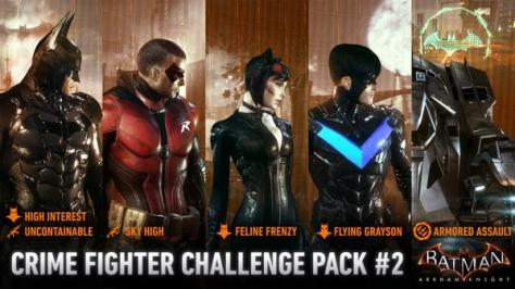 batman arkham crime fighter pack 2