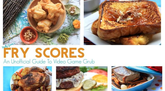 Fry Scores: An Unoffical Guide To Video Game Grub, The Gamers Cookbook Is Now Available Digitally