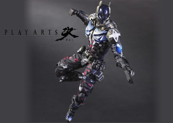 Square Enix Reveals Their Play Arts Kai NYCC Limited Edition Batman: Arkham Knight Figure
