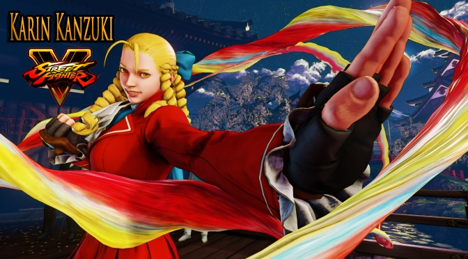 Street Fighter V Announces The Newest Fighter In The Ring, Karin The Fan Favorite Is Back