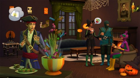 the sims chilling stuff 1