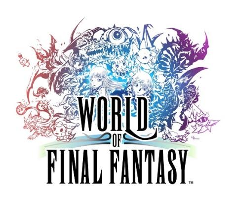 world of final fantasy logo