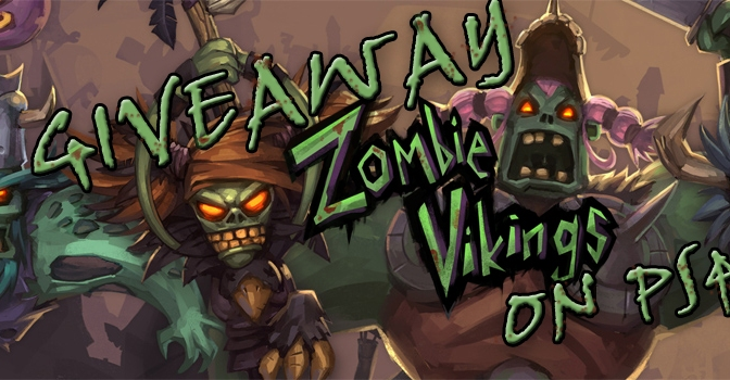 Giveaway: How Would You Like To Win Zombie Vikings On PS4?