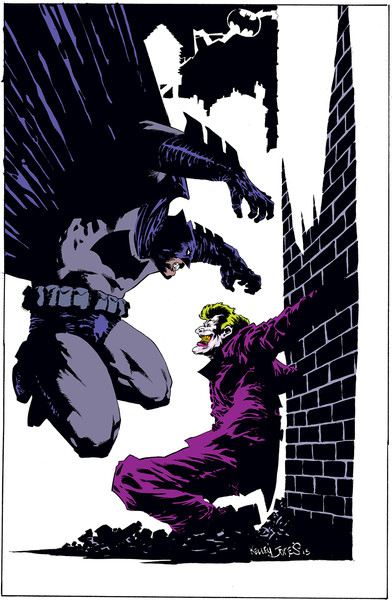 Retail variant cover by Kelley Jones