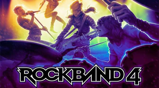 Hit The Lights, Crank Up The Volume, And Take The Stage Today In Rock Band 4