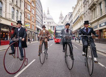 Ubisoft Continues Marketing Assassins Creed Syndicate With A Bike Ride?