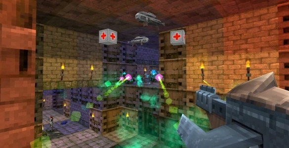 The First DLC To Hit Gunscape Will Bring Horror Scifi Shooter Elements For Level Building Mayhem