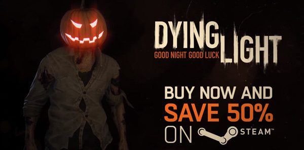 Happy Halloween, Here's A Special Message From The Dying Light Team