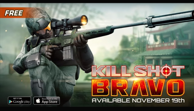 Raising The Bar On FPS Mobile Gaming, Kill Shot Bravo Is Targeting An Android & iOS Release Next Week