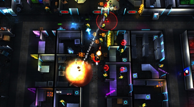 The Cyberpunk Top-Down Shooter Neon Chrome Needs Your Vote On Steam Greenlight