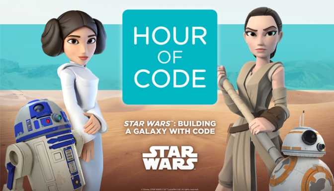 Code.org & Star Wars Team Up For The 3rd Annual Global Hour Of Code Campaign, Bringing Coding To Kids