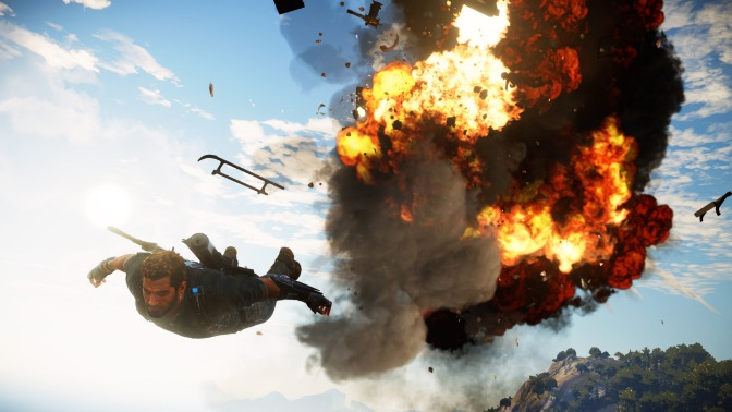 Just Cause 3 In Stunning 4K, Need I Say More?