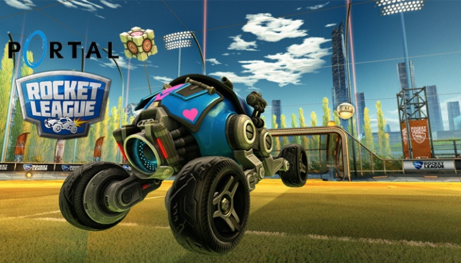 Officially Licensed Portal Car Customization Options Are Now Available In Rocket League