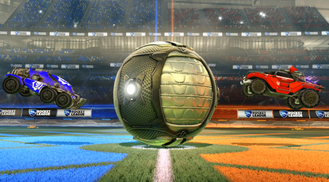The Award Winning Rocket League Has Announced They'll Be Playing On The Fields Of The Xbox One
