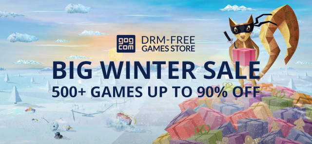It's Time To Stock Up On Great Games During The GOG Winter Sale