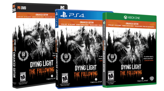Techland Reveals Dying Light: The Following Enhanced Edition, Packed With All Of The DLC & Enhancements Galore