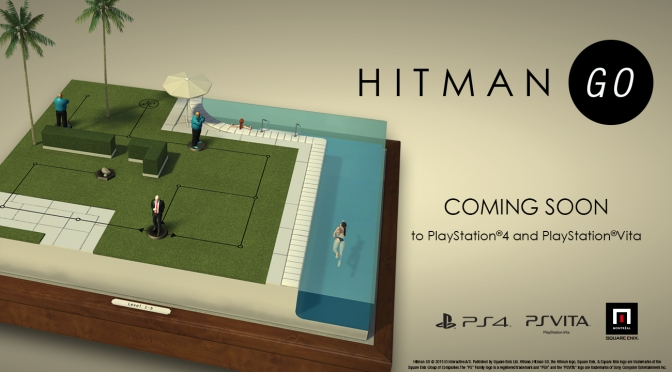 The Mobile Gaming Sensation HITMAN GO, Is Heading To PS4 & PS Vita