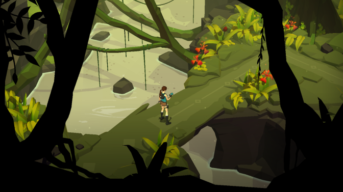 """Square Enix Celebrates As Lara Croft GO Has Been Named """"Game Of The Year"""" For 2015 By The App Store"""