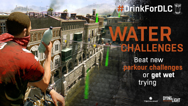Techland Reveals New #DrinkForDLC Challenges For Dying Light