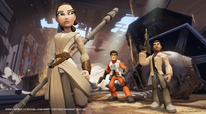 Disney Infinity 3.0 Reveals A Movie Style Poster For The Force Awakens Play Set