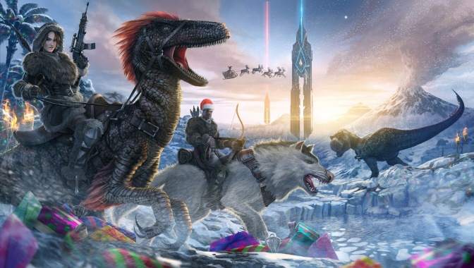ARK: Survival Evolved Transforms Into A Winter Wonderland While You Wait For Raptor Claus