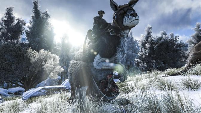 ARK: Survival Evolved Invites You To Celebrate New Year's In Style & Introduce Prehistoric Kangaroos