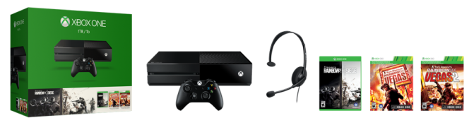 Microsoft Reveals New Xbox One Console Bundles