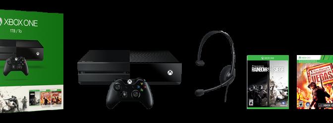 Microsoft Reveals New Xbox One Console Bundles
