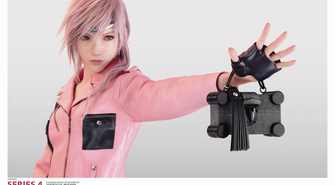 "Final Fantasy XIII & High Fashion? Louis Vuitton Reveals A Glimpse Into ""Series 4"" The 2016 Spring-Summer Collection"