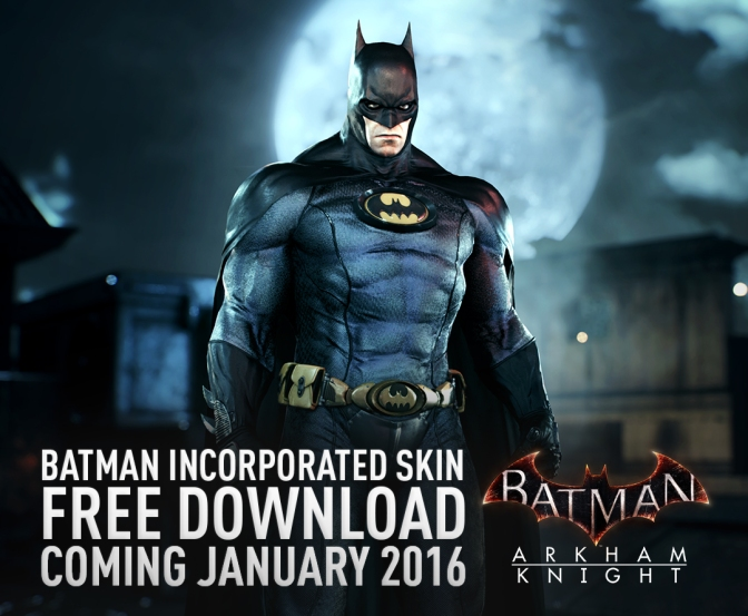 Batman: Arkham Knight January DLC Update Officially Revealed