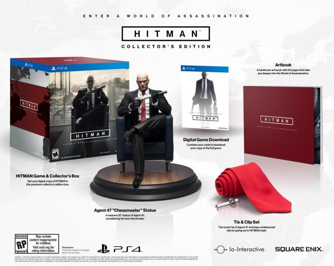 Voted On By The Fans, HITMAN Is Officially Getting A Killer Collector's Edition