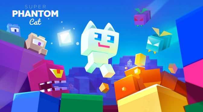 Super Phantom Cat Pays Tribute To Retro Platformers With A Style All It's Own On The App Store
