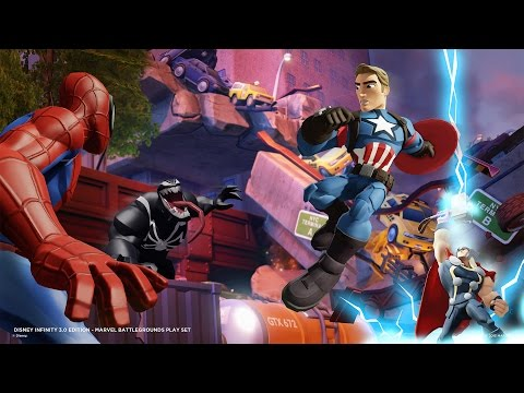 Disney Infinity 3.0 Marvel Battlegrounds, Everything We Know About The Upcoming Playset