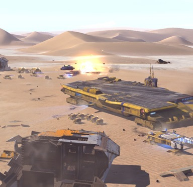 The Prequel To The Classic Homeworld Games, Homeworld: Deserts of Kharak, Is Out Now On PC