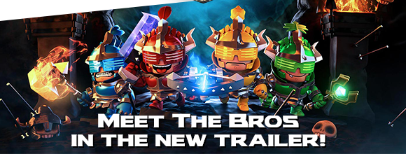 It's Time To Meet The Heavy Metal Heroes From Super Dungeon Bros.