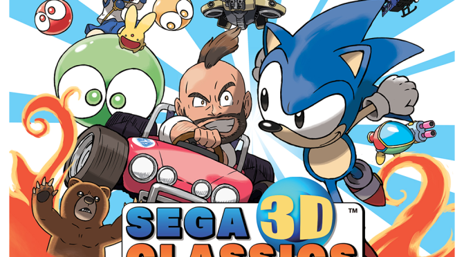 Dying To Revisit The Glory Days Of Sega? The Sega 3D Classics Collection Is Heading To The 3DS