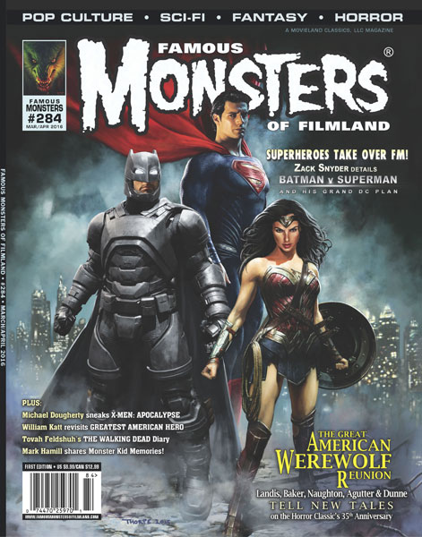 Famous Monsters Of Filmland February Issue Celebrates Batman v Superman: Dawn Of Justice
