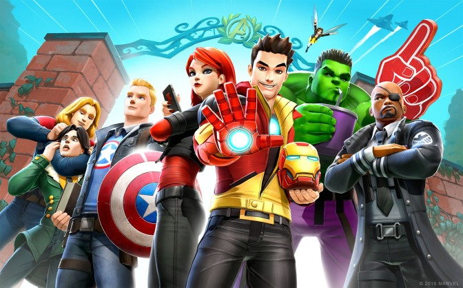 School Is In Session! MARVEL Avengers Academy Is Now Available On The App Store & Google Play